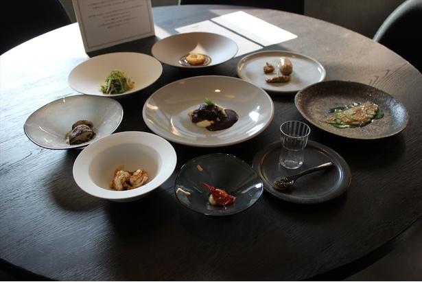 「アーティザン テーブル・ディーン&デルーカ」では二十四節気をテーマにしたコース料理が登場