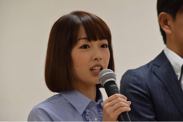 ヒロ福地とのコンビも2年目に突入する「イチオシ!」高橋春花アナウンサー