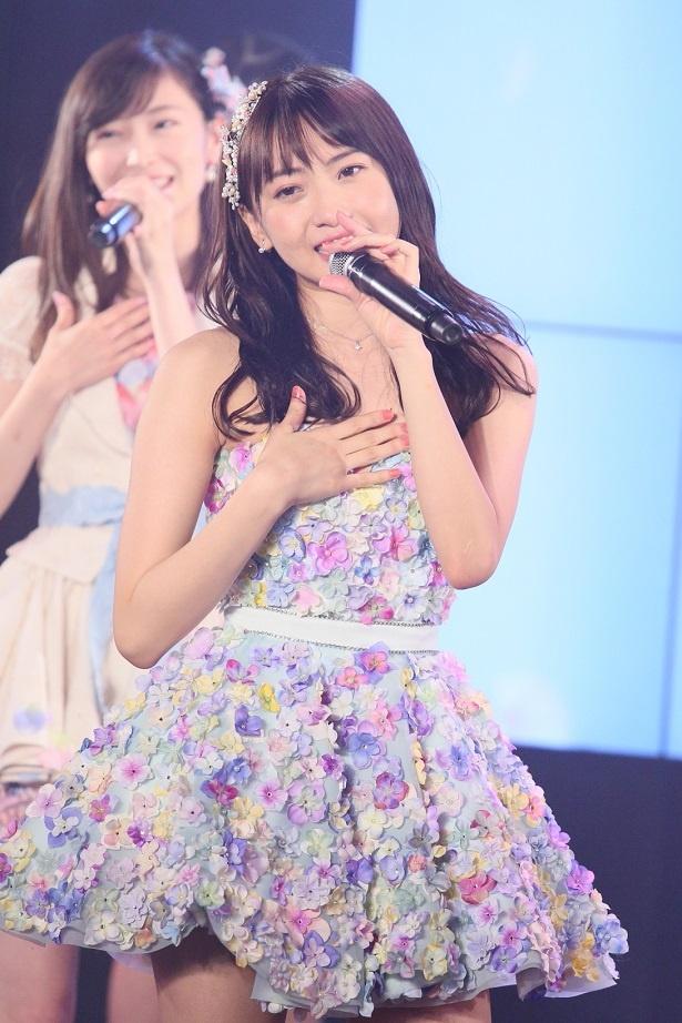 木崎ゆりあがSKE48劇場に凱旋、「制服の芽」で同劇場最終公演を行った