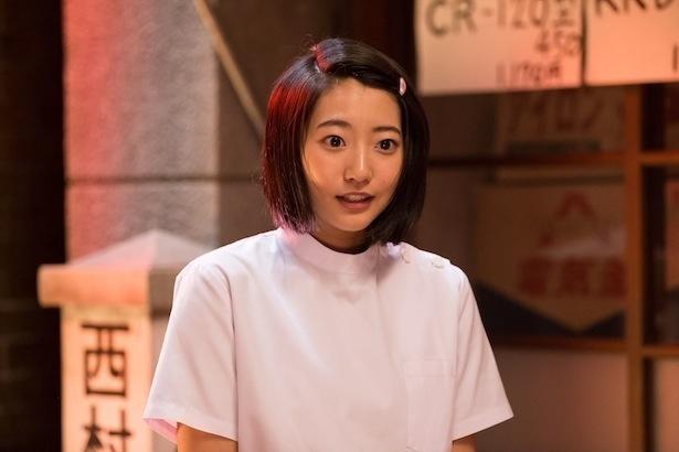 「植木等とのぼせもん」で、みよ子を演じる武田玲奈