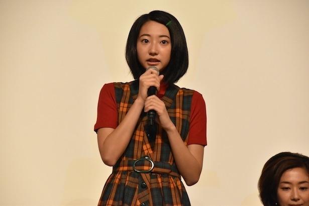 武田は「まっちゃん(小松)とみよ子の関係がどう変化していくのか、ぜひ見守っていただけるとうれしいです」と笑顔で話す