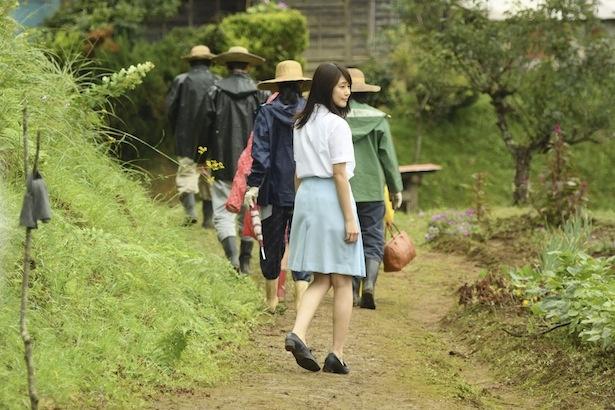 奥茨城村に帰ってきたみね子