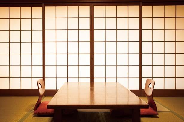 昔ながらの畳敷きで心落ち着く客室タイプC/街のねどこ kinsui