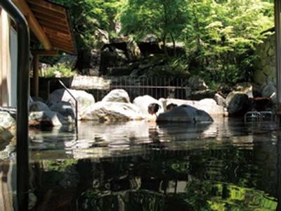 京都御所をイメージした優美な湯/御所の湯