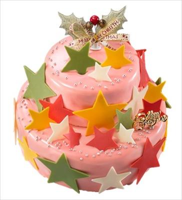 サンタクロースとトナカイが駆けていく星をイメージした「パティスリーイソザキ」の「エトワール ショコラ」