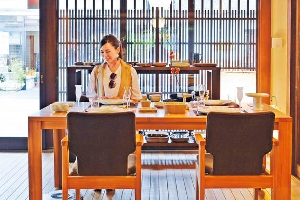 秋田杉の間伐材を使用した家具シリーズ「AKITA COLLECTION」/篠山ギャラリーKITA'S