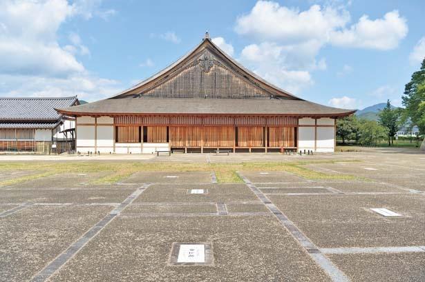 現在の建物は2000年に再建されたもの/篠山城 大書院