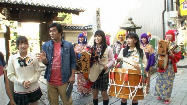"「SKE48 むすびのイチバン!」で、SKE48が""ちんどん""に挑戦!"