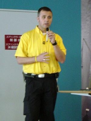 IKEAポートアイランド ストア・マネージャーのマーティン・ブラッシュ氏