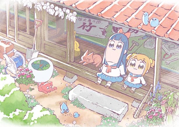 1月から放送開始予定のTVアニメ「ポプテピピック」のスタッフ情報がついに解禁!