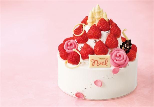 永年築き上げてきた自慢のレシピによる本格的なケーキ