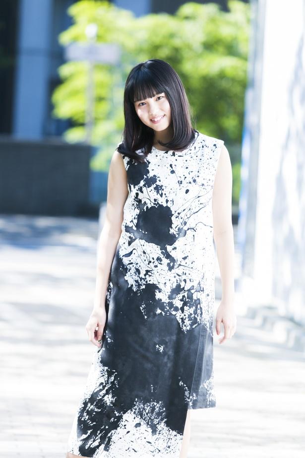 【写真を見る】劇団4ドル50セントのセンターに大抜擢された國森桜。広島県出身の18歳