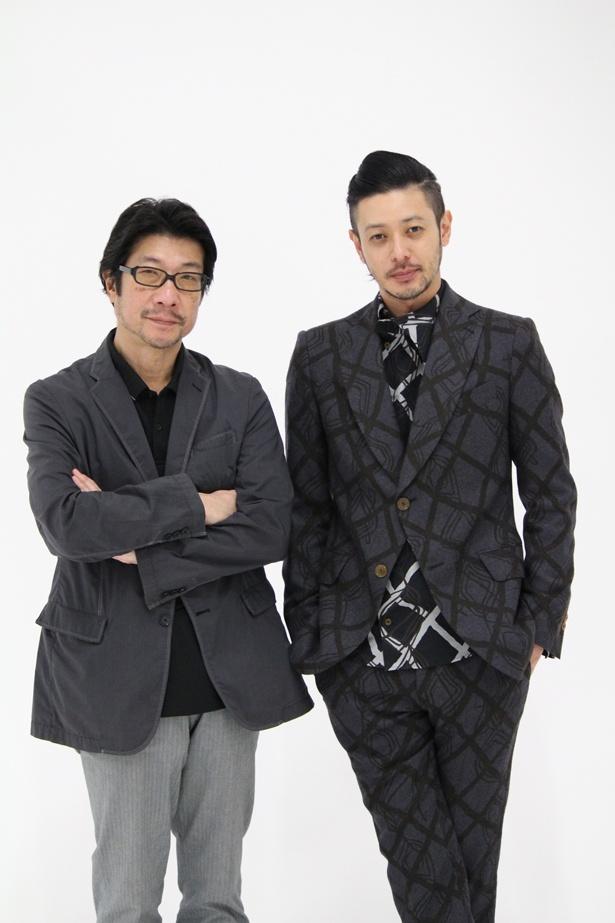 本作で3度目のタッグを組んだ阪本監督とオダギリジョー
