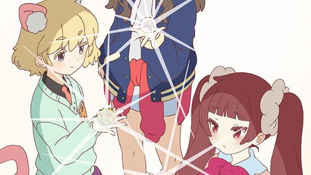 10月アニメ「URAHARA」第1話のカットが到着。大好きな原宿を守るため、立ち上がる!