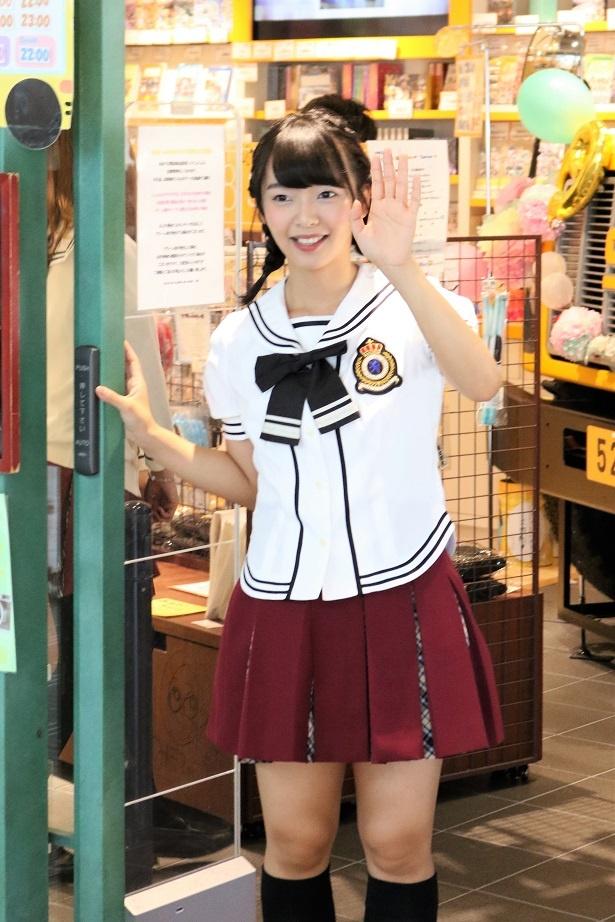 「SKE48 CAFE&SHOP」には高畑結希の姿が!