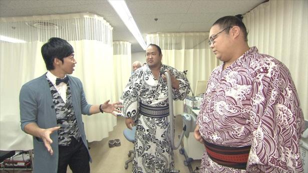 東貴博が大相撲の舞台裏に潜入