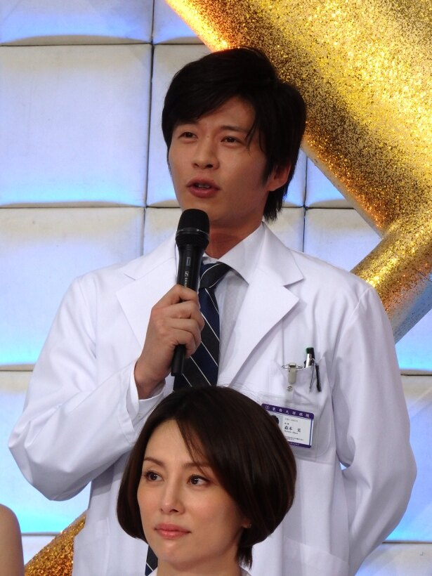 「米倉さんがピョンピョンしながら『圭くん、久しぶり! イエイ!』と言ってくれて、そのフレンドリーさに戸惑いました(笑)」と田中は笑顔で明かす