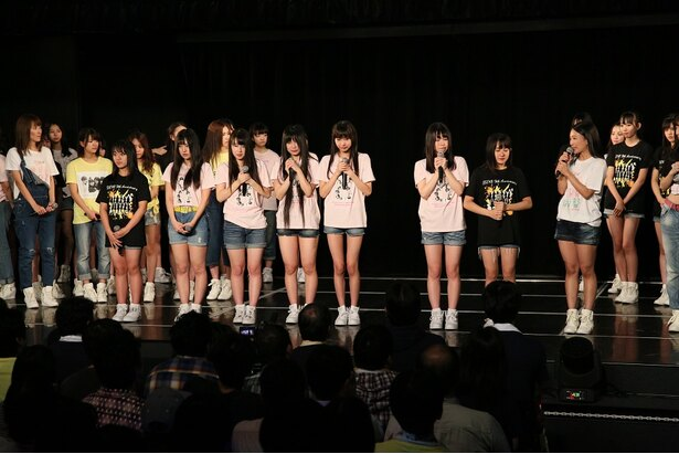 SKE48劇場デビュー9周年特別公演。昇格が発表された研究生たちの目には涙が