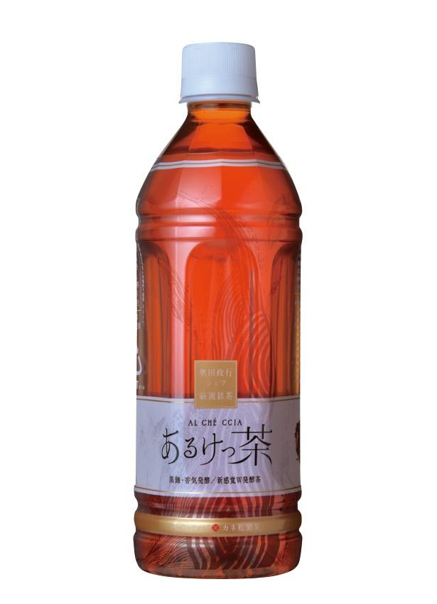 【写真を見る】ほんのり甘い、独特の香りの健康茶「あるけっ茶 500mlペットボトル」(172円、500ml)