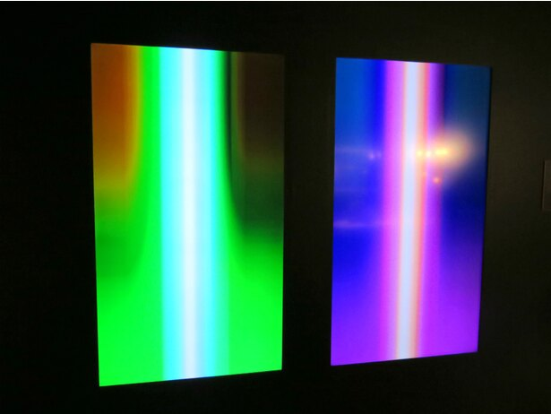 フォースの光をイメージしたYoshirotten氏のグラフィック・アート