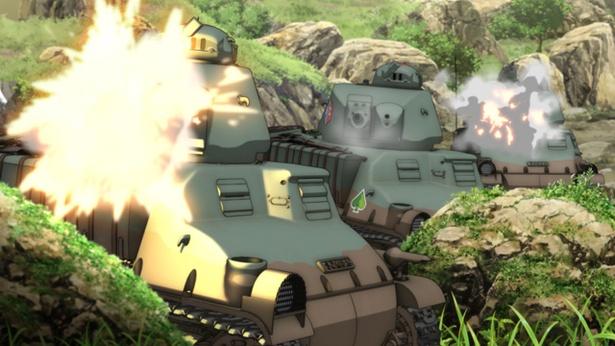 CG描写&ダイナミックな音響の戦車戦シーンに今回も期待大!