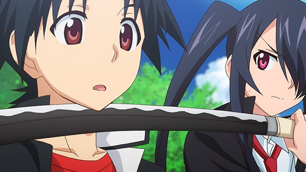 「UQ HOLDER!〜魔法先生ネギま!2〜」第2話の先行カットが到着。九郎丸と名乗る剣士、登場!