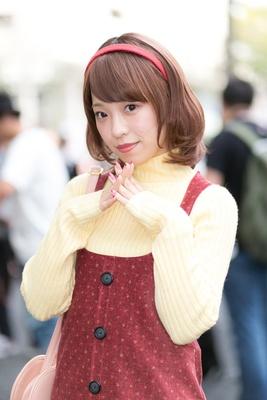 「アイドルマスターシンデレラガールズ」の長富蓮実に扮した毛並sayukiさん