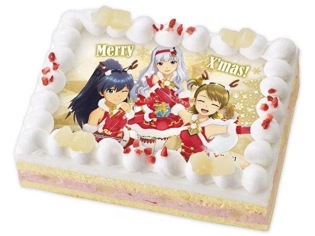 【写真を見る】キャラデコプリントケーキ クリスマス アイドルマスター(1)
