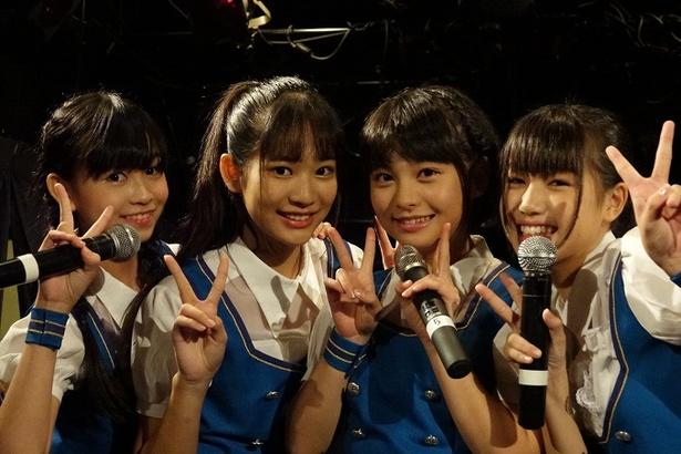 PiXMiXのAIRI、MISAKI、TOWAKO、KAREN(写真左から)