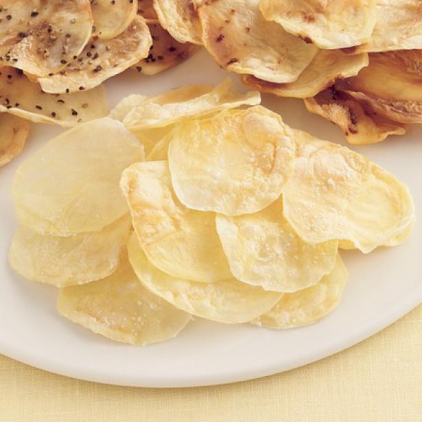 【関連レシピ】ノンオイルで作る「ヘルシーレンジポテトチップス」