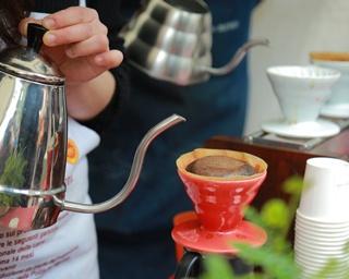 「いつも飲むコーヒーをさらに美味しく、楽しく、より深く味わおう」がテーマだ
