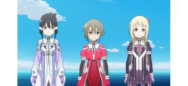「結城友奈は勇者である-鷲尾須美の章-」第2話の先行カットが到着。勇者チーム、連携をとるために合宿へ