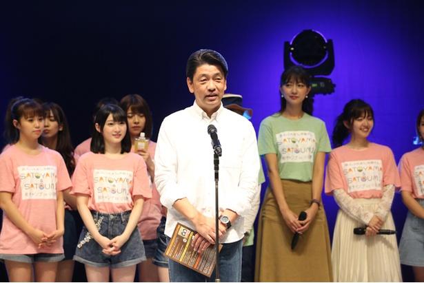 小田原市長・加藤憲一氏は「ぜひ、小田原の魅力を堪能して帰ってください」とアピールした