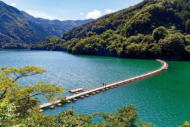 新宿から1時間40分!東京の秘境・奥多摩湖でリフレッシュ ウォーカー ...