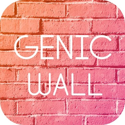フォトジェニックな壁やオブジェなどの「インスタ映え」スポットを簡単に探すことができる新感覚サーチアプリ「GENIC WALL」
