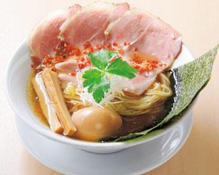 「特製金色貝そば」(990円)/燃えよ 麺助