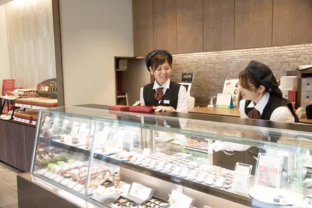 スタッフに味を聞きながら選んでも/ベル アメール 京都別邸 銀閣寺店