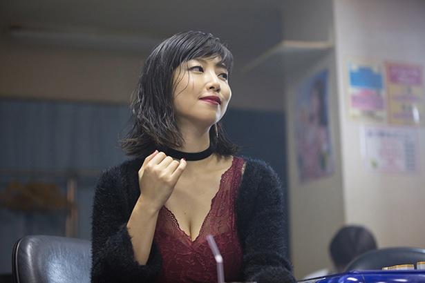 セクシーなMEGUMIが「フリンジマン」に登場!