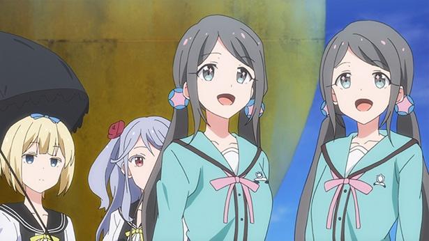 「つうかあ」第2話の先行カットが到着。鈴鹿女学園のペアが別々の宿に泊まる理由は?