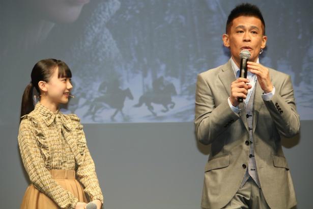 芦田愛菜が柳沢慎吾の大ウケ