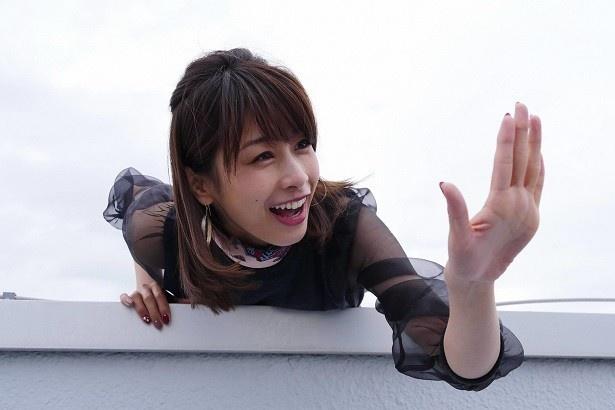 カトパンこと加藤綾子も女子力高めなキャラで出演