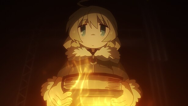 「少女終末旅行」第2話のカットが到着。吹雪の中で寒さを凌げる場所を探すが…