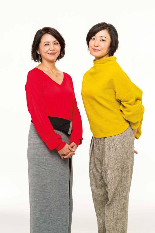 【写真を見る】小泉今日子&菅野美穂があこがれのスターについて語る!