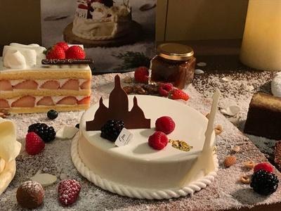 「クリスマスケーキ by ジル・マルシャル」(4860円)