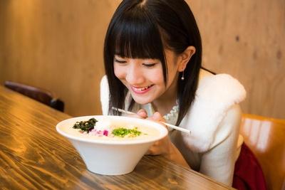 【写真を見る】「スープがムースみたいになっているよ!」