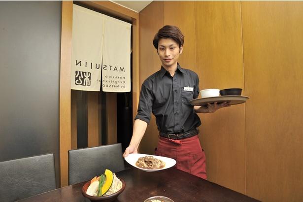 松尾ジンギスカン 札幌南1条店の営業マネージャー、野宮慶次さん