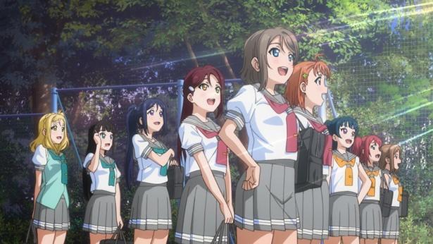 「ラブライブ!サンシャイン!! TVアニメ2期」第1話のカットが到着。千歌たちの挑戦が再び始まる!