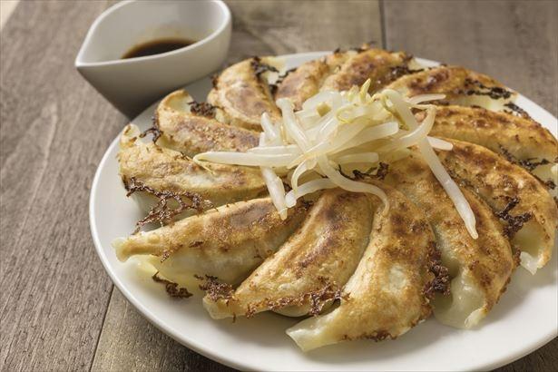 「浜松餃子」は、キャベツが多く入った、さっぱりとした味が特徴