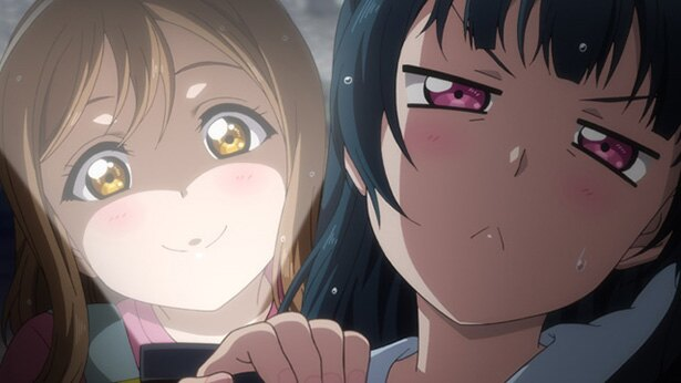 「ラブライブ!サンシャイン!! TVアニメ2期」第2話のカットが到着。曲作りを巡ってケンカ!?