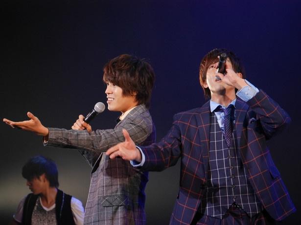 ボイメン・平松と歌うNO IDEAの「Stand up 」